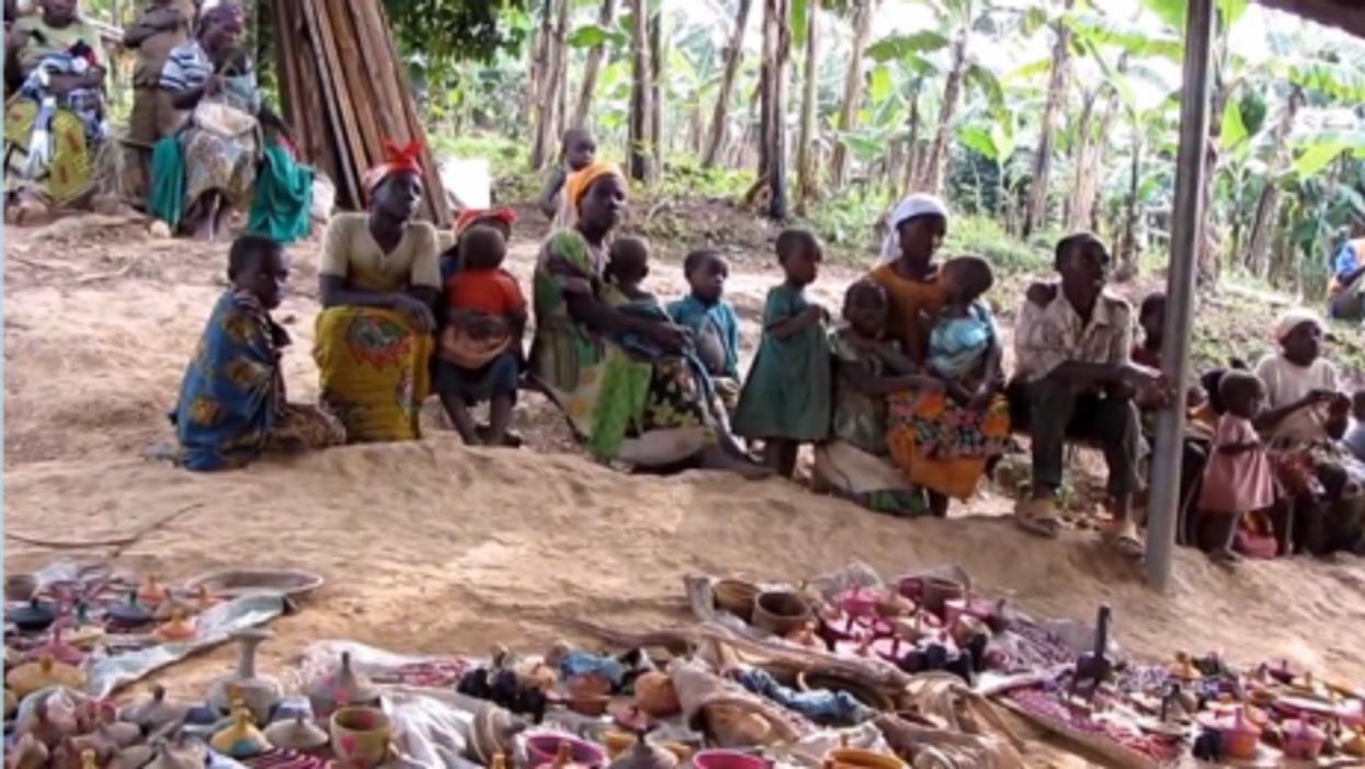 Pygmies in Uganda