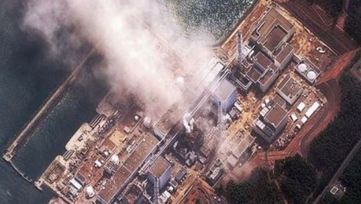 Radiation levels remain high around the damaged Fukushima-Daiichi plant