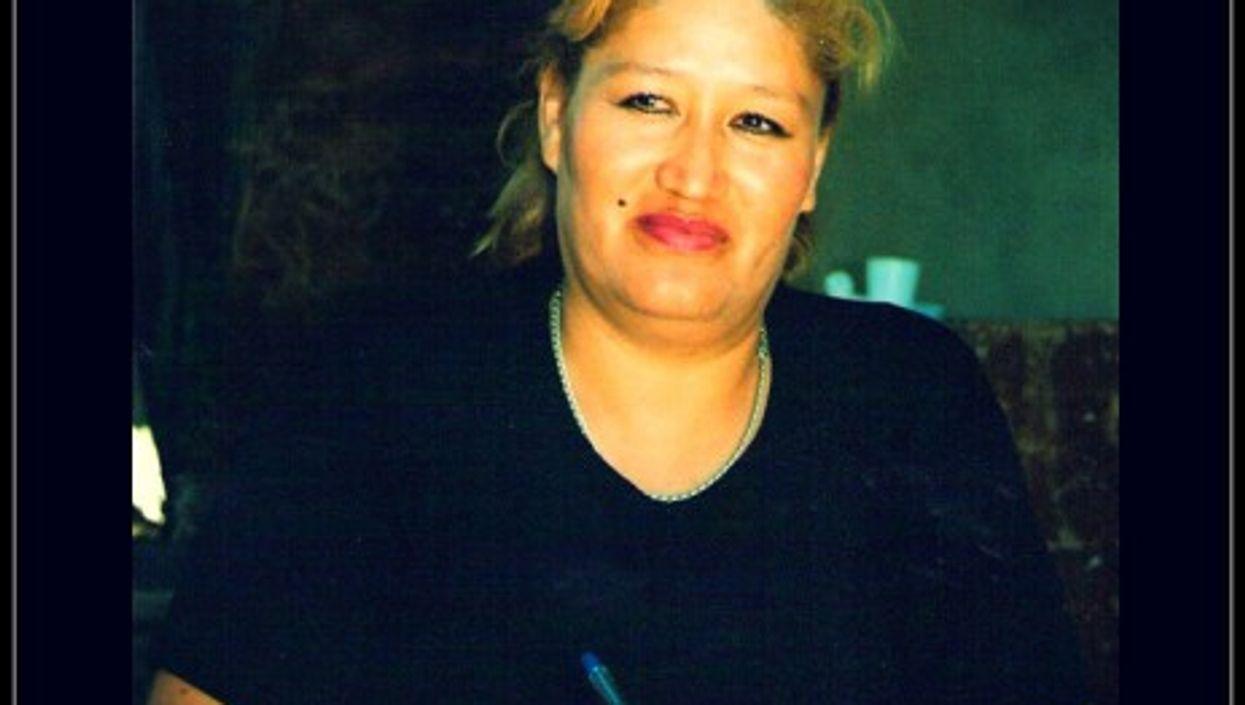 Radio presenter and women's rights defender Norma Andia