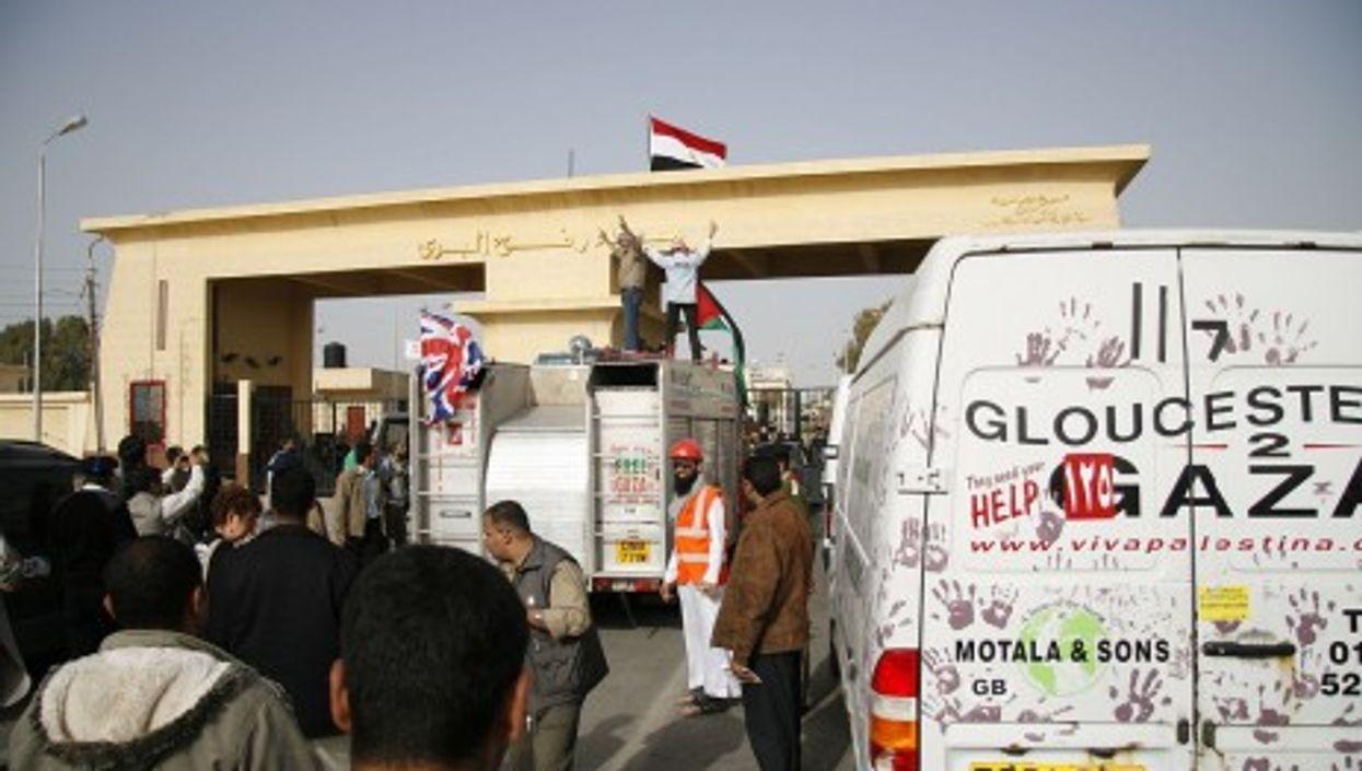 Rafah crossing (gloucester2gaza)