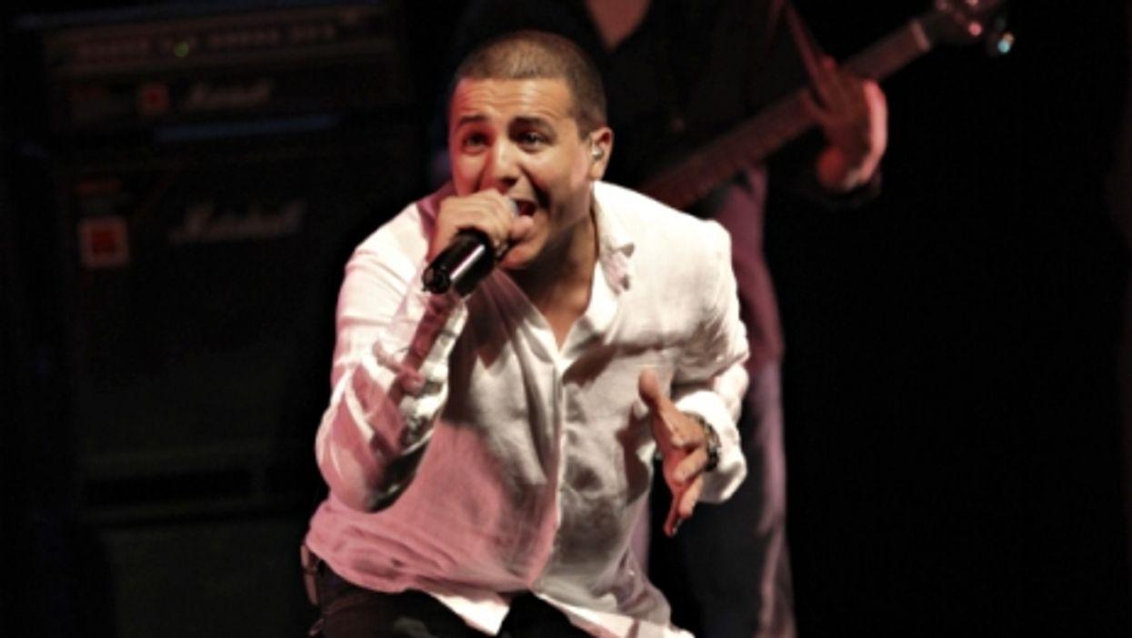 Rai singer Faudel in July 2010