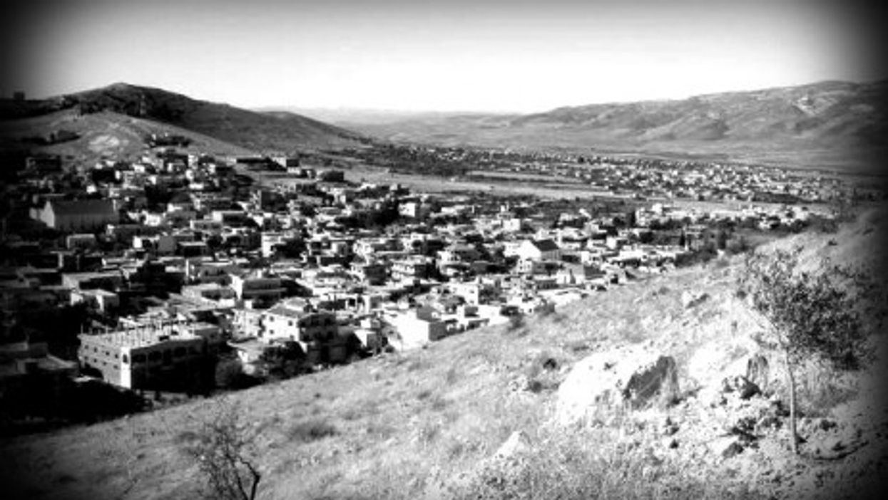 Ras Baalbek from above