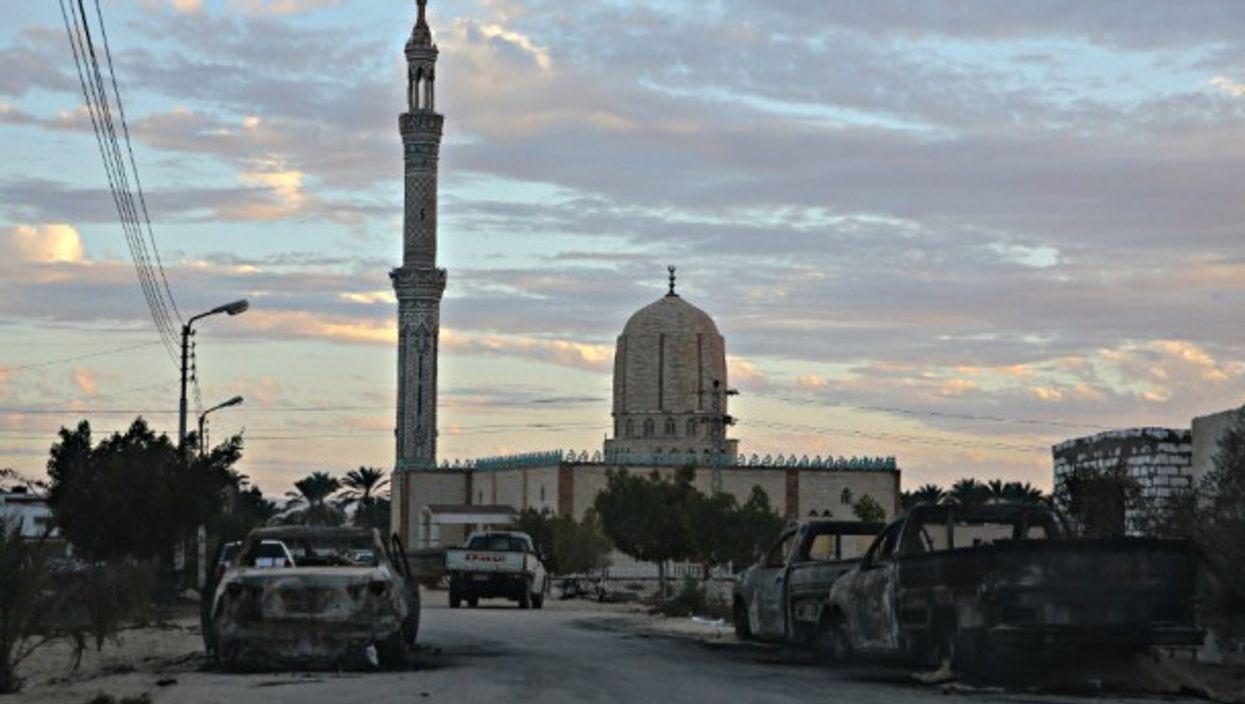Rawda mosque on Nov. 25