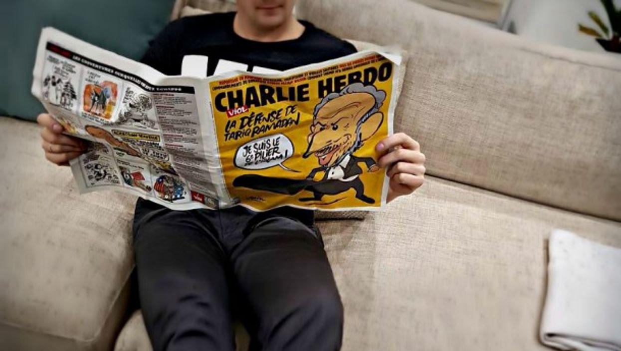 Reading Charlie Hebdo's Nov. 1 issue