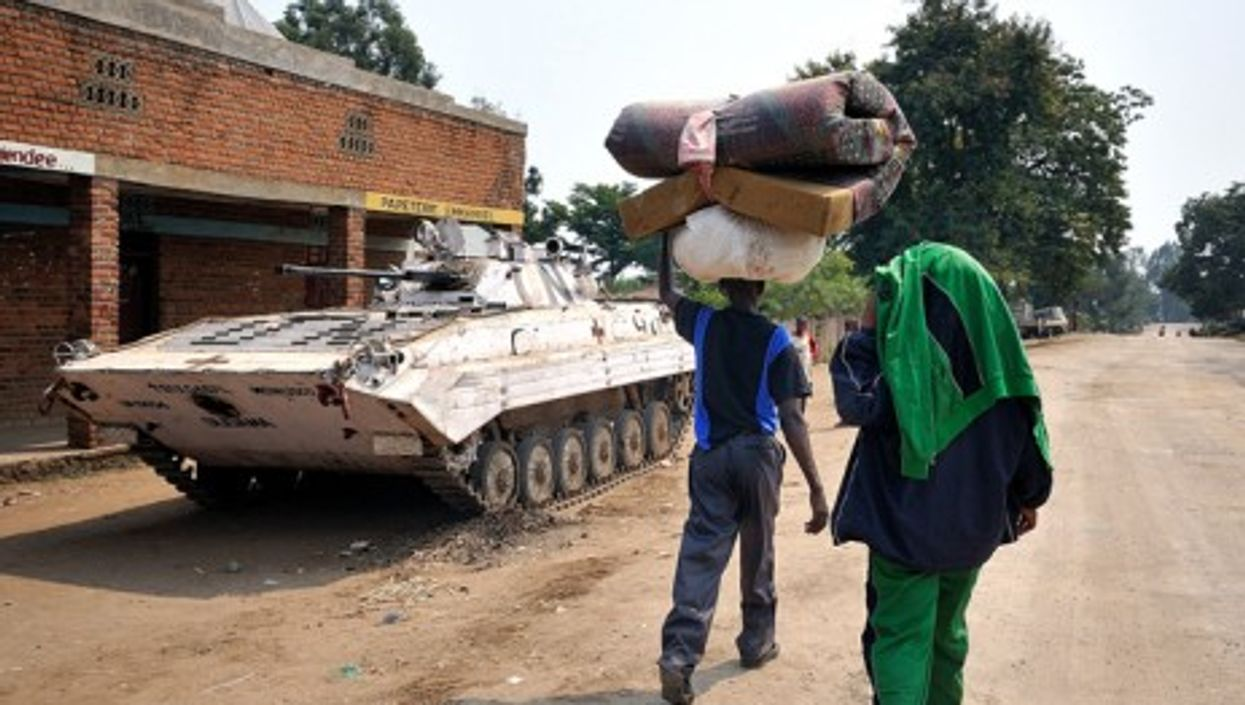 Rebels might have left -- Congolese keep fleeing North Kivu