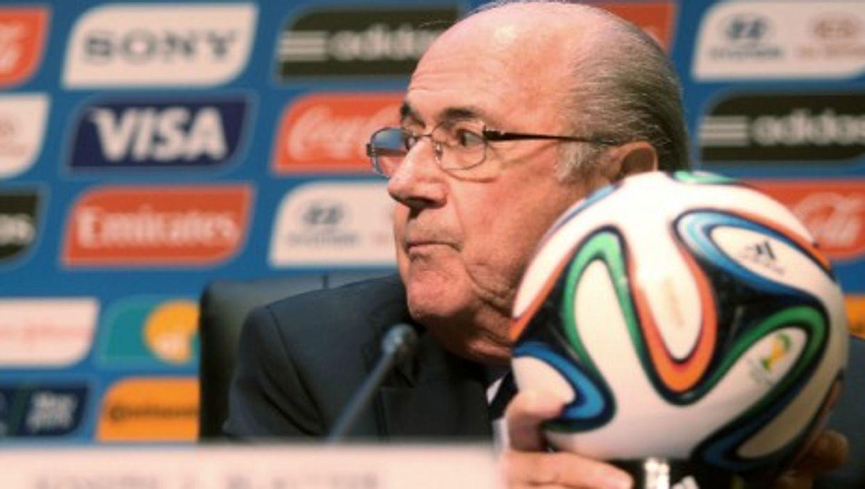 Red card for Sepp Blatter, at last?