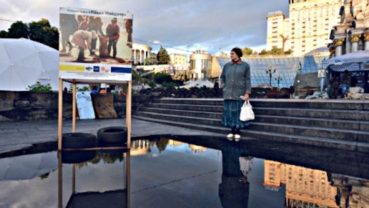 Reflections in Kiev