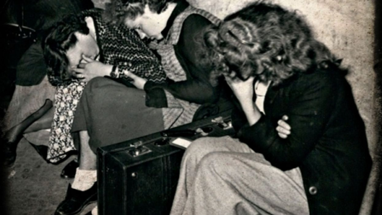 Refugees in Berlin after World War II