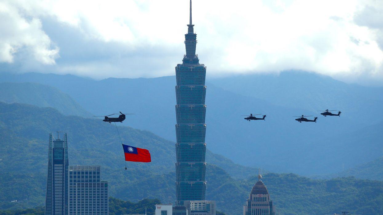 Taiwan, Keeping Calm And Watching China