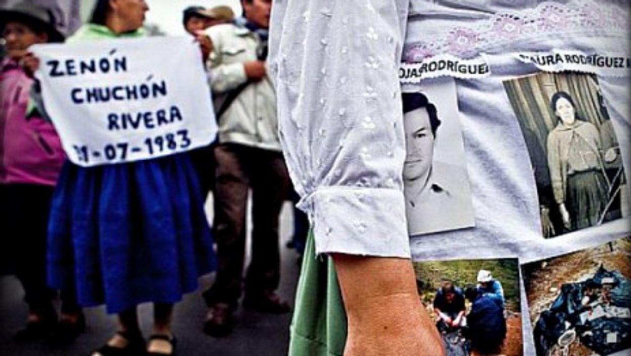 Remembering the victims of the Sendero Luminoso in Peru