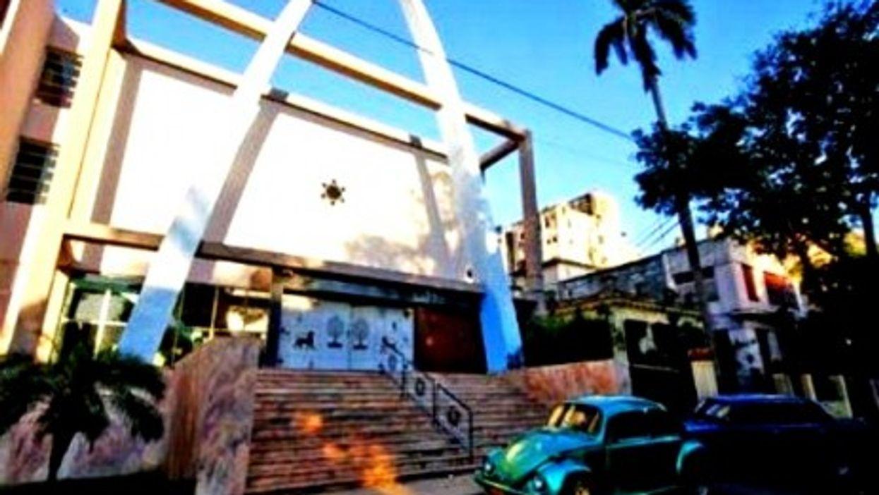 Renovated Patronato Synagogue in Havana
