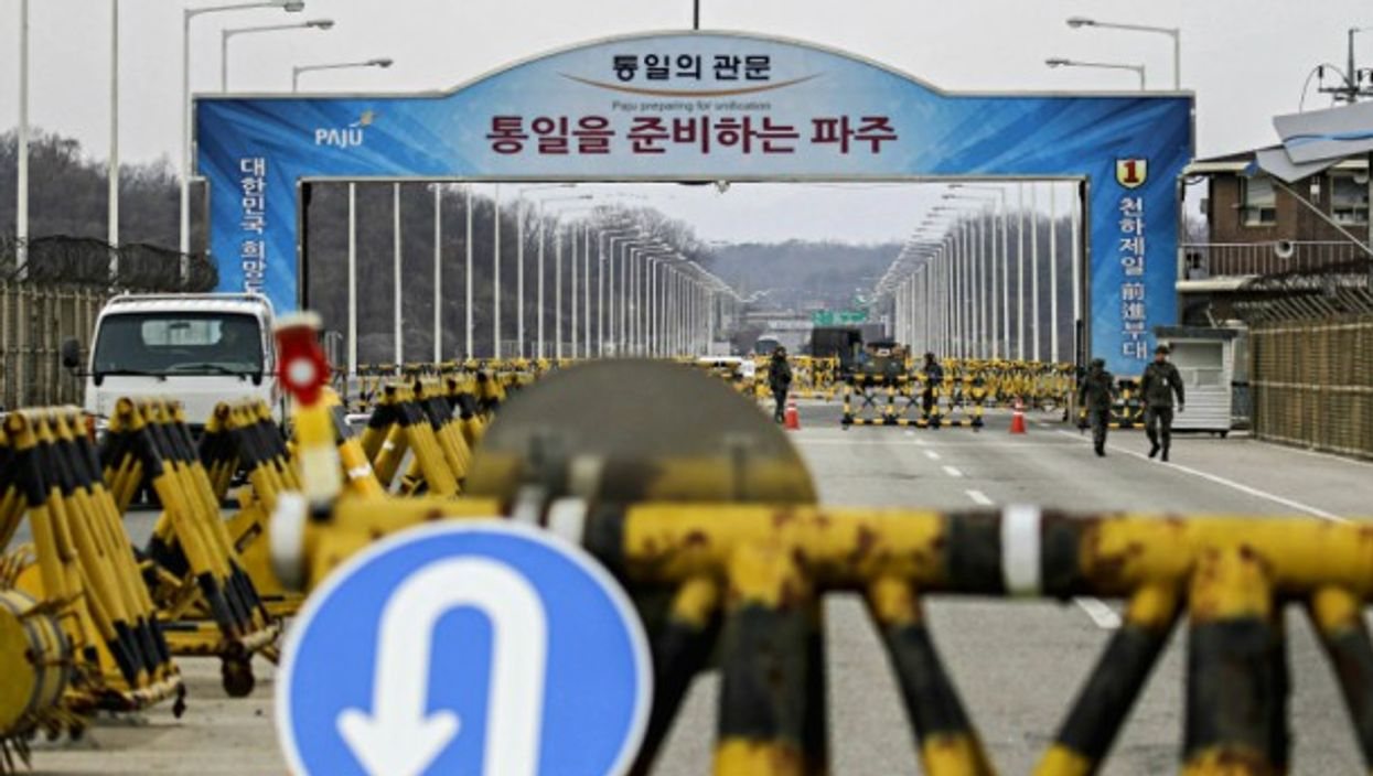 Reopened communication channel between North and South Korea