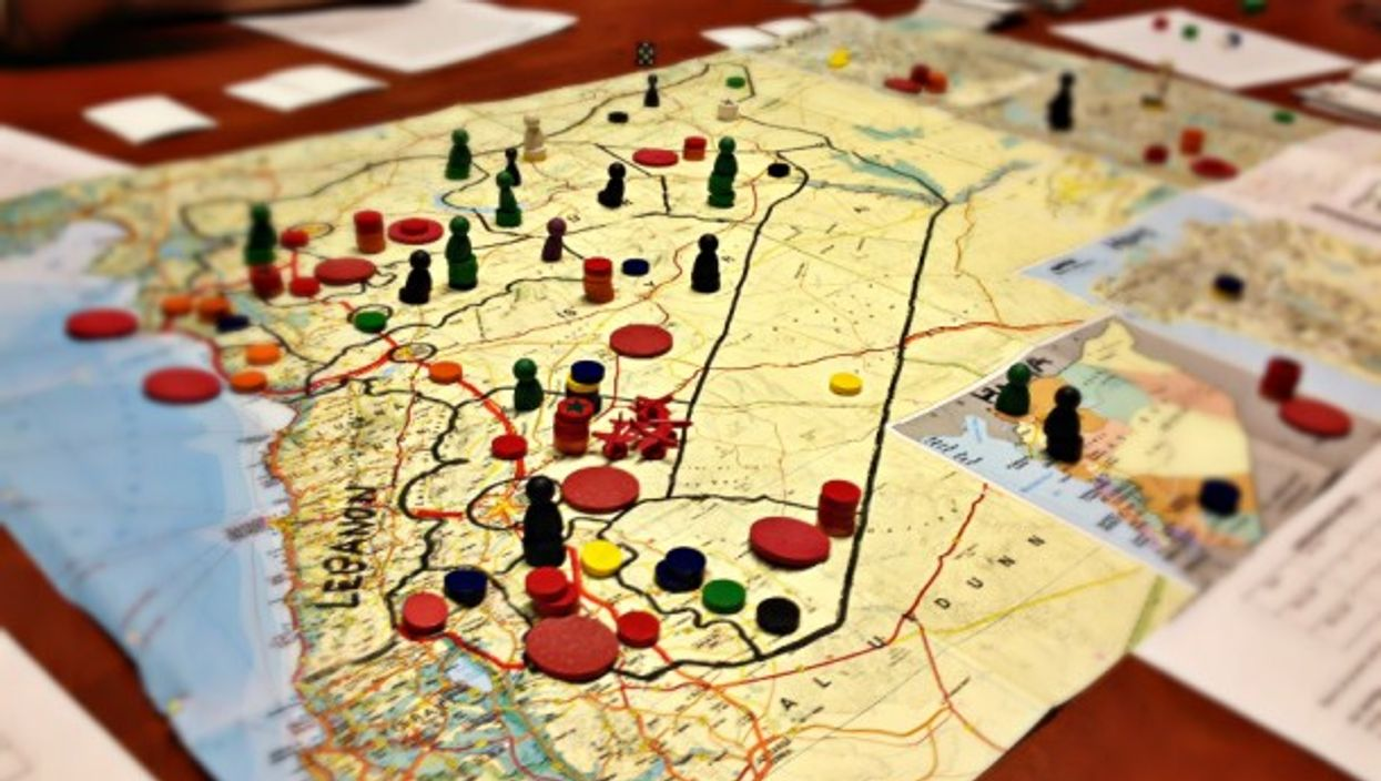 Right now the complex situation in Syria could be a strategy games and we should be worried.