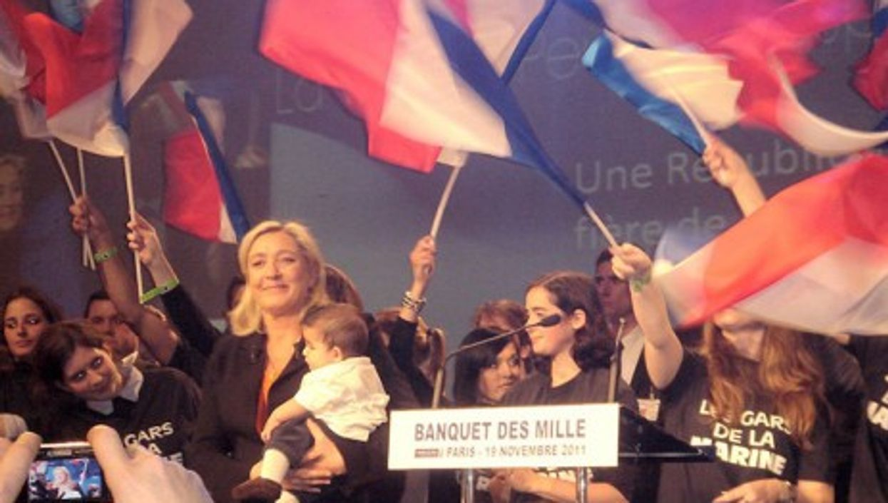Right-wing nationalist candidate Marine Le Pen (Wikipedia)