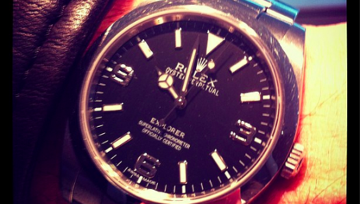 Rolex, for a limited time...