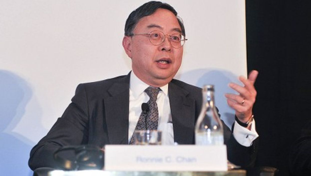 Ronnie Chan speaks at the Horasis Global China Business Meeting
