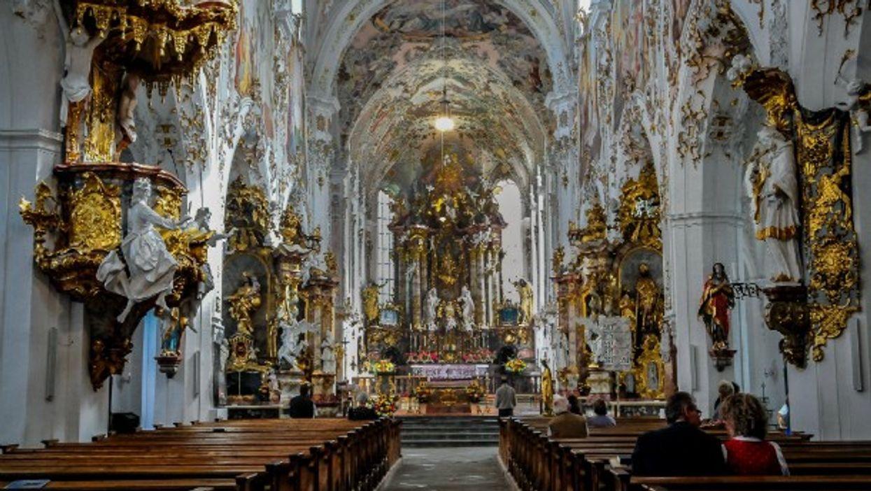 Rottenbuch Abbey (Kloster Rottenbuch) in Rottenbuch, Bavaria