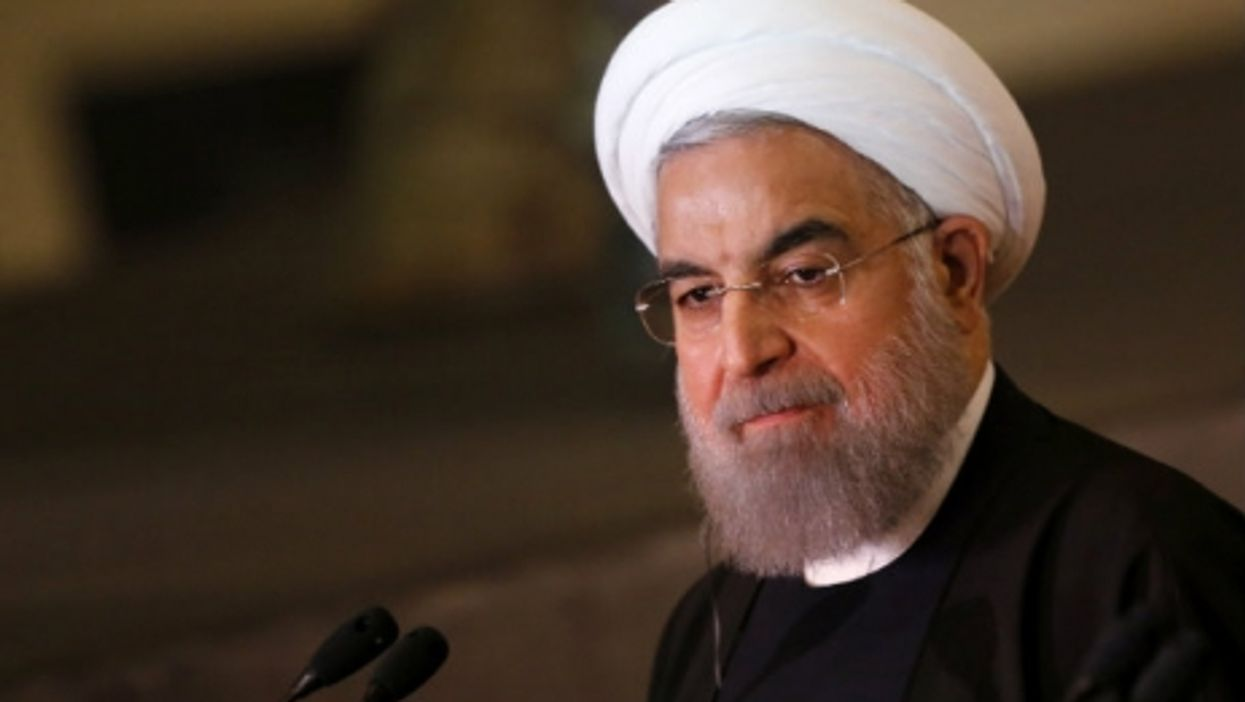 Rouhani in Rome