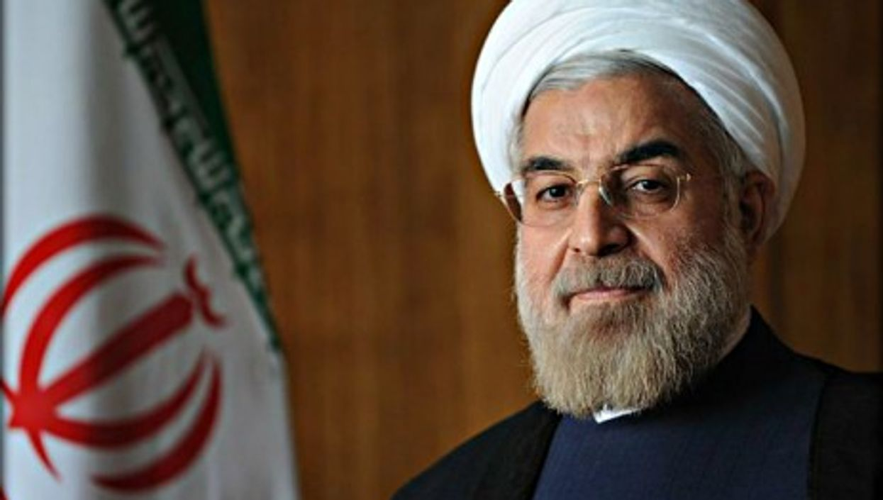 Rouhani is back in Iran