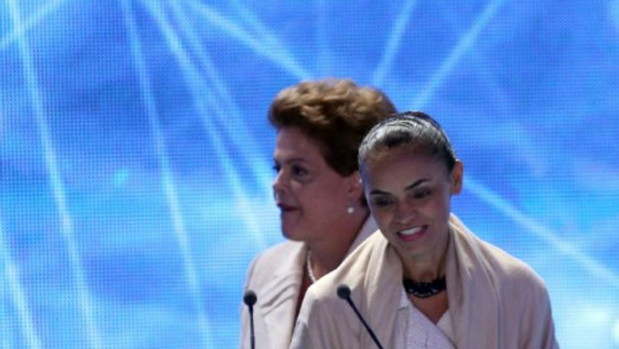 Rousseff and Silva