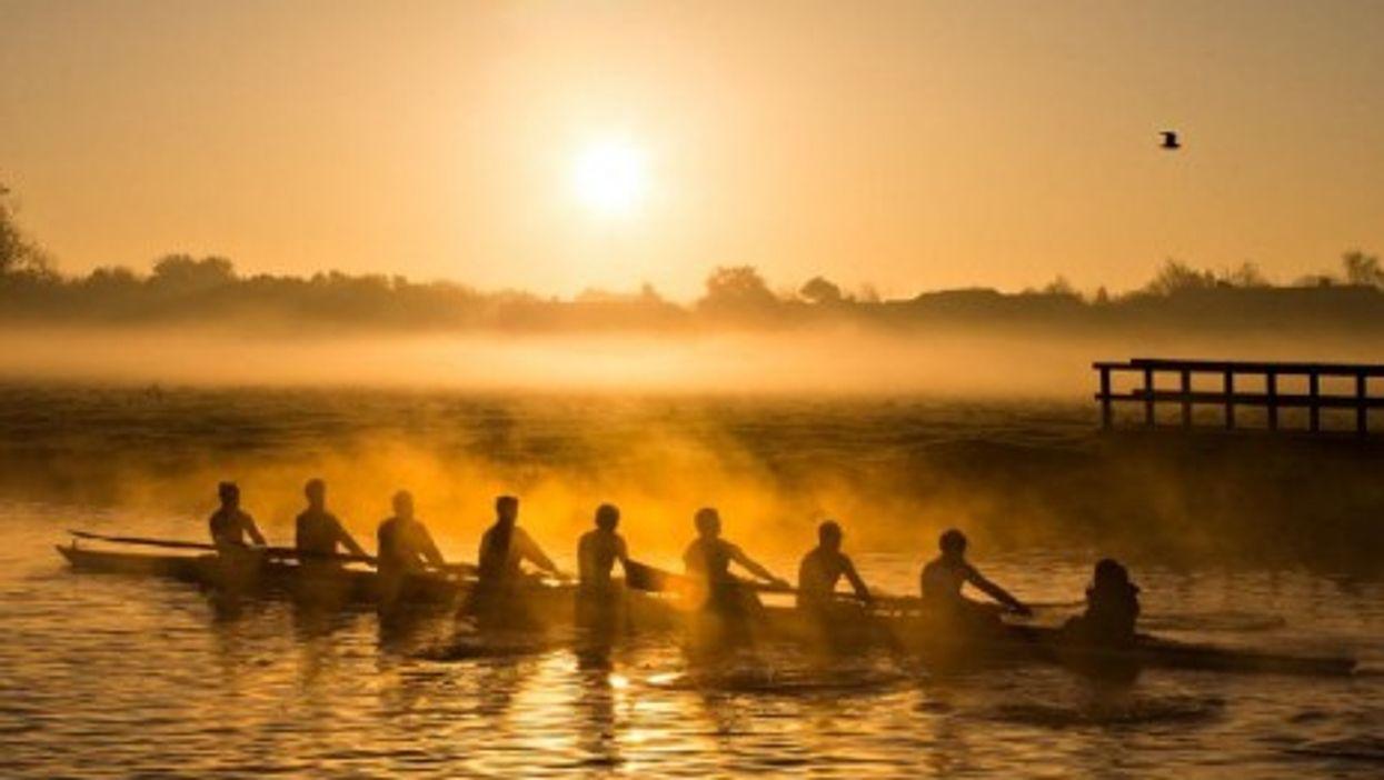Rowing in Cambridge