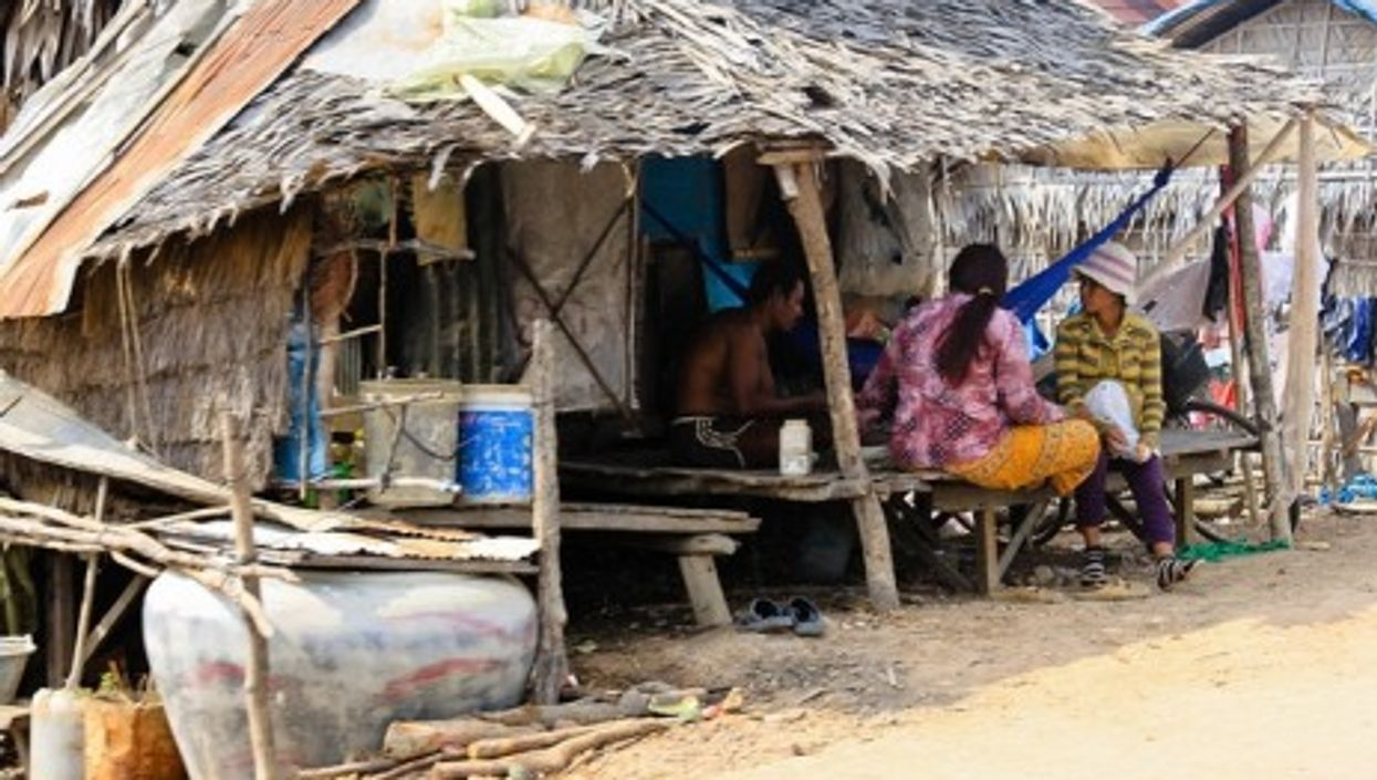 Rural residents in Siem Raep Province, Cambodia
