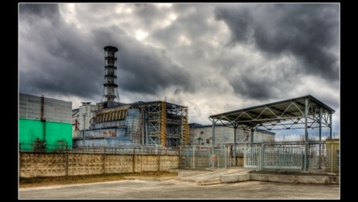 Russia is hoping its nuke plants don't go the way of Chernobyl (above) disaster