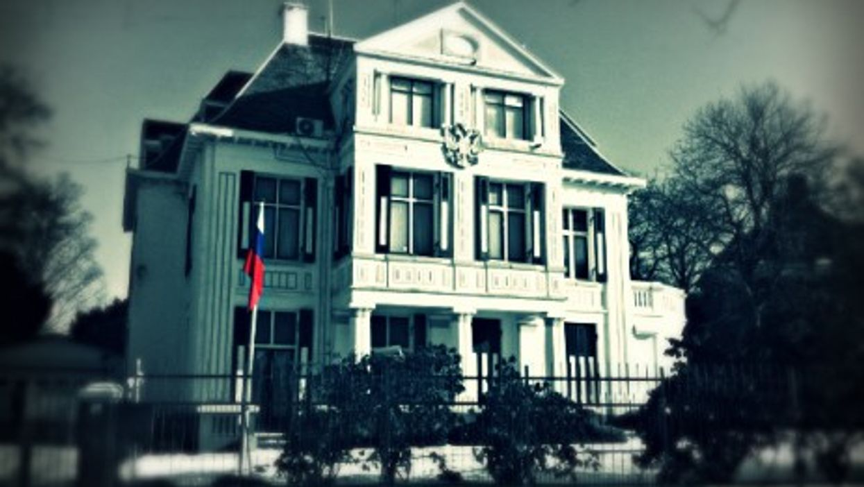 Russian embassy in the Netherlands