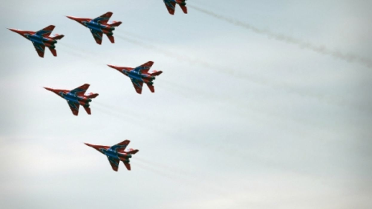 Russian MiG-29 fighter jets