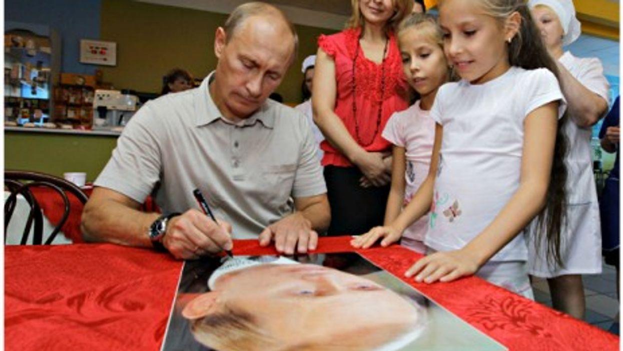 Russian President/hero Valdimir Putin
