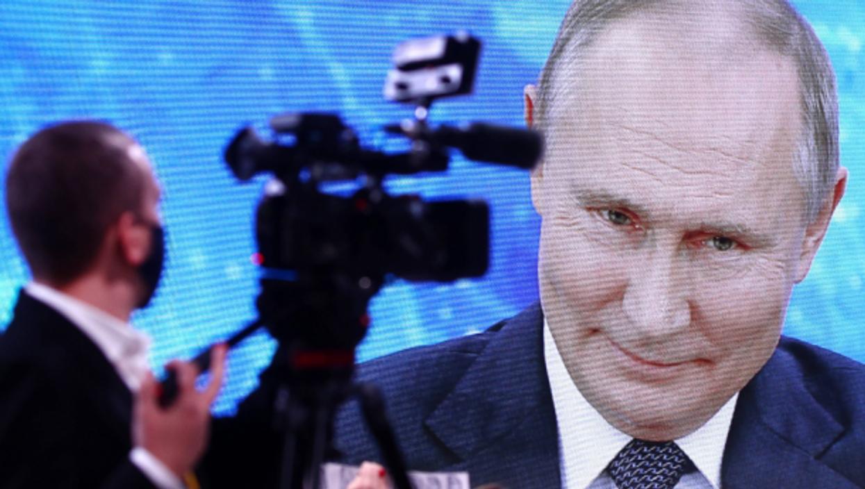 Russian President Vladimir Putin's TV address on Dec. 17