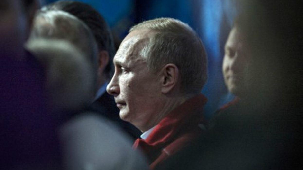 Russian President Vldimir Putin in February 2014