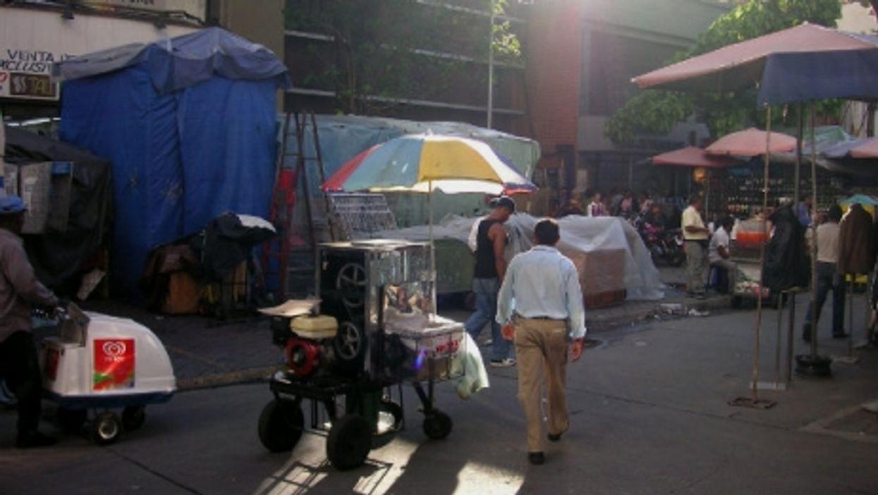 Sabana Grande market in Caracas