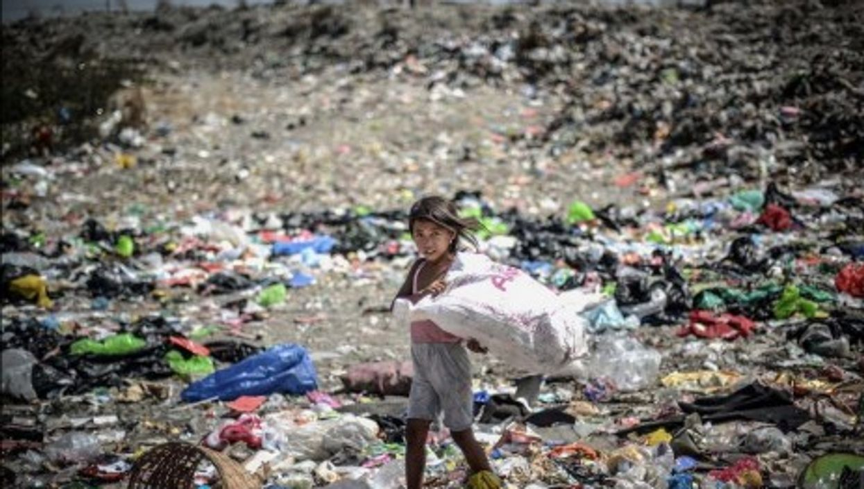 Sad reality on Earth Day