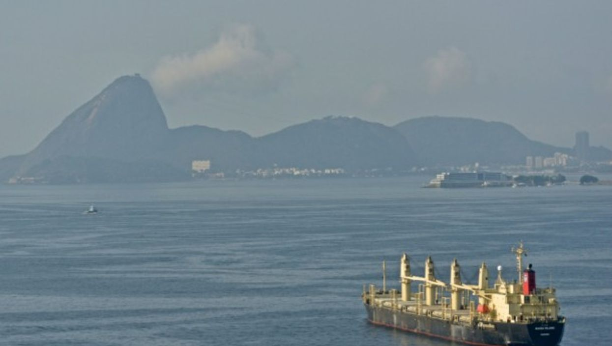 Sailing to Rio, Brazil