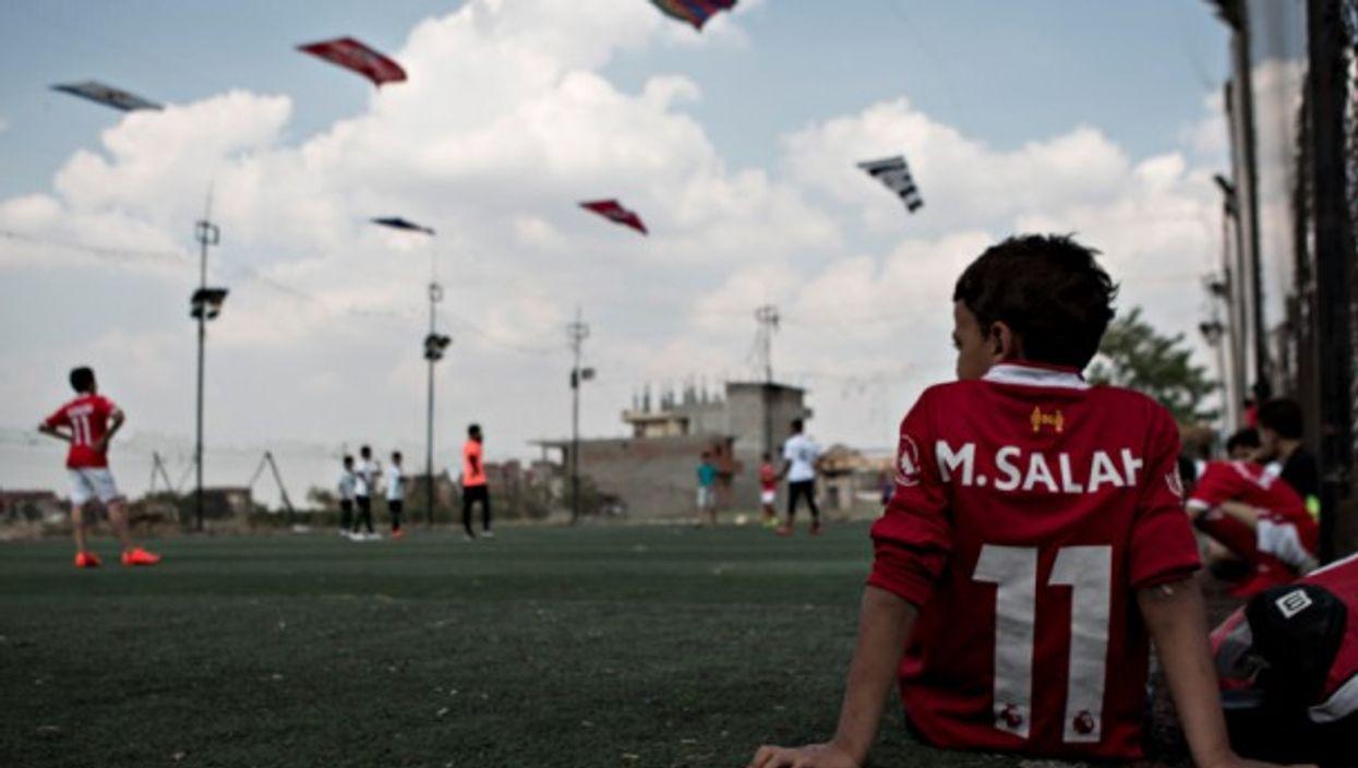 Salah fan In Nagrig, Egypt