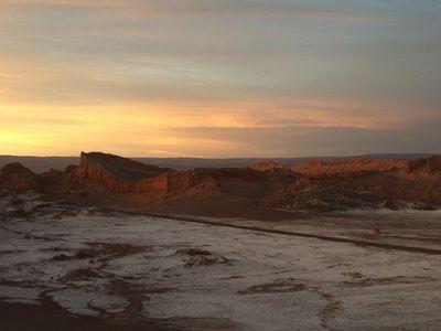 Salt flats in northern Chile's Atacama desert (Gio Iab)