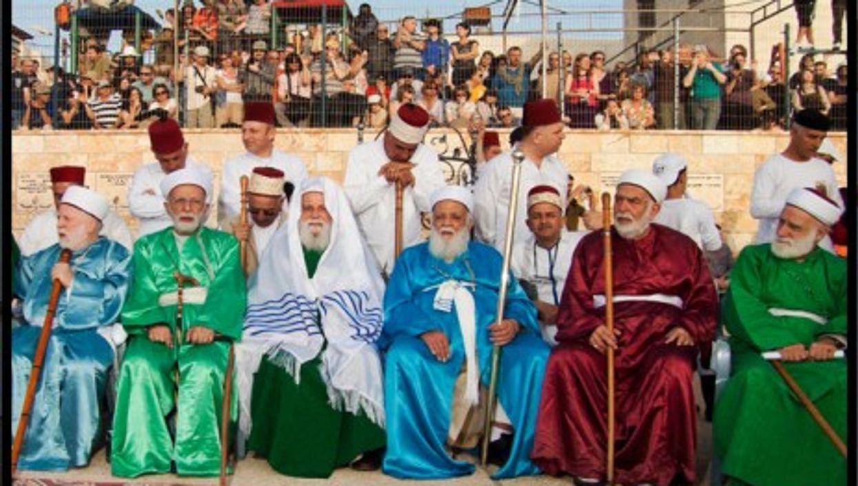 Samaritans' Passover at Mount Gerizim in Nablus