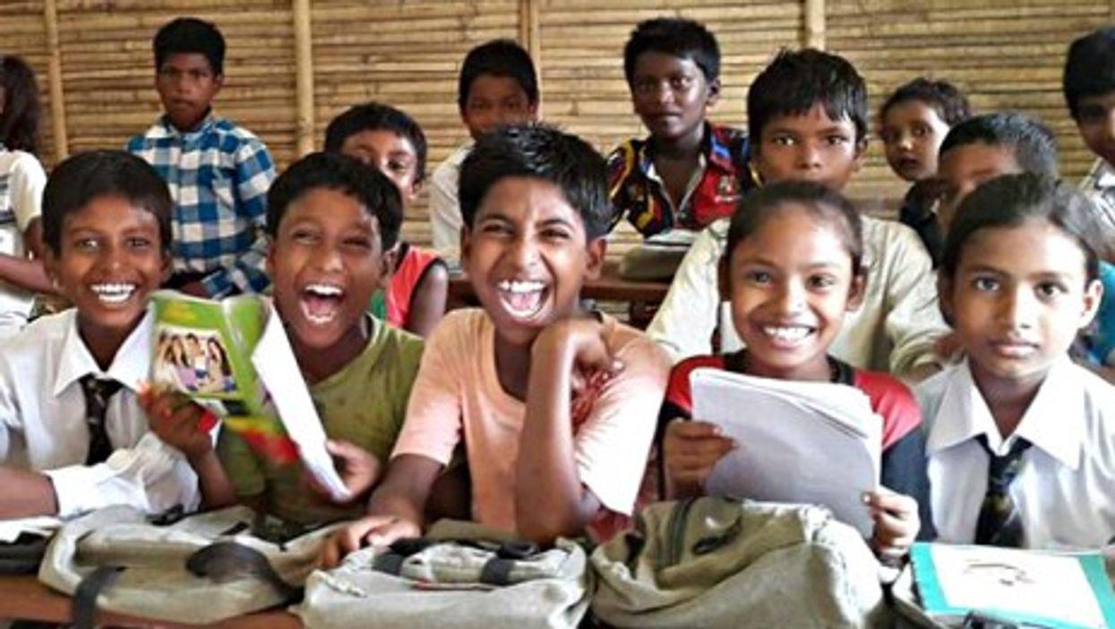 Samata school students