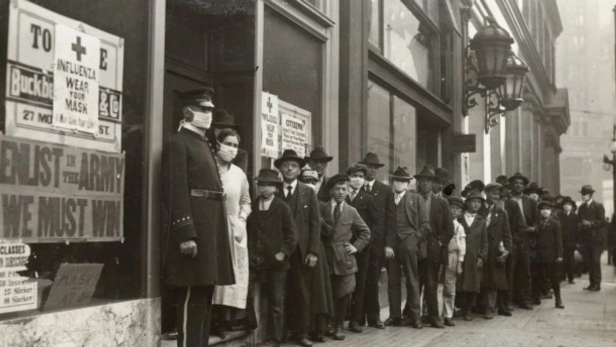 San Francisco during the Spanish Flu
