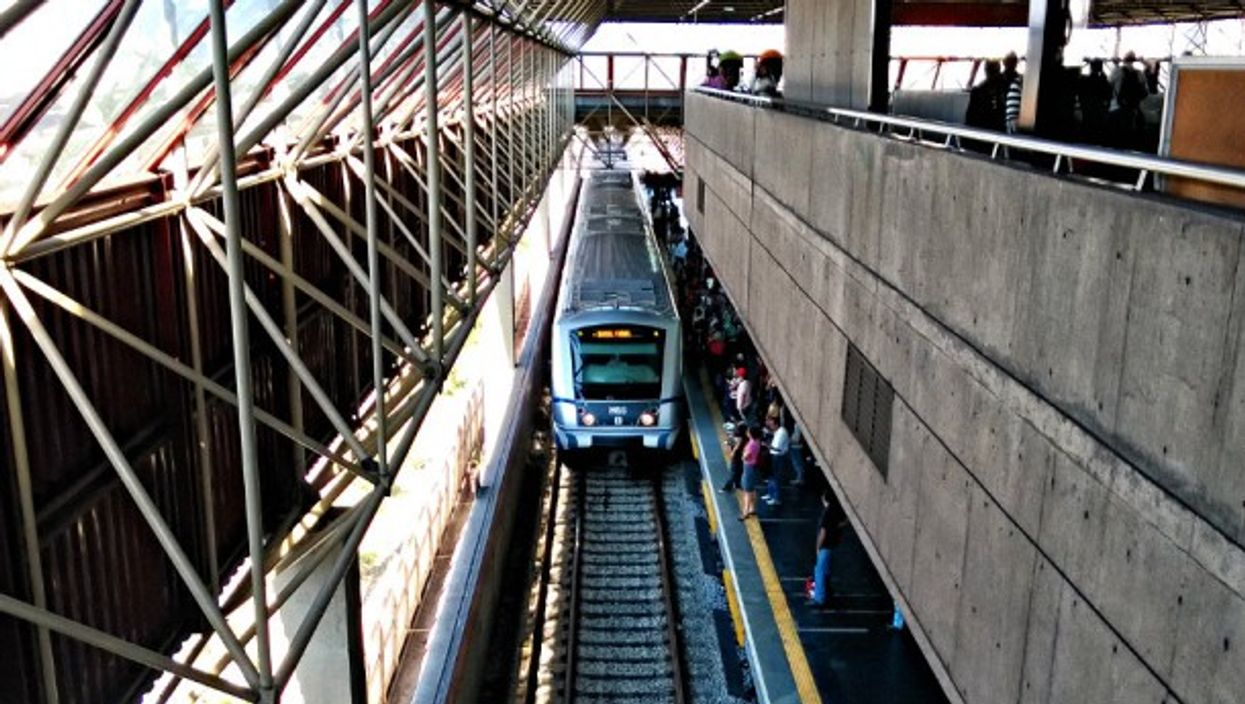 Sao Paulo's subway was built in the 1960s, with expansion since