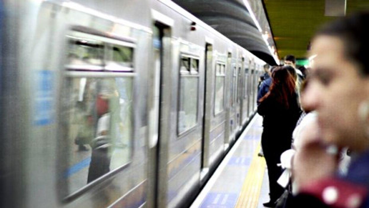 "Sao Paulo's ""Blue Line"""