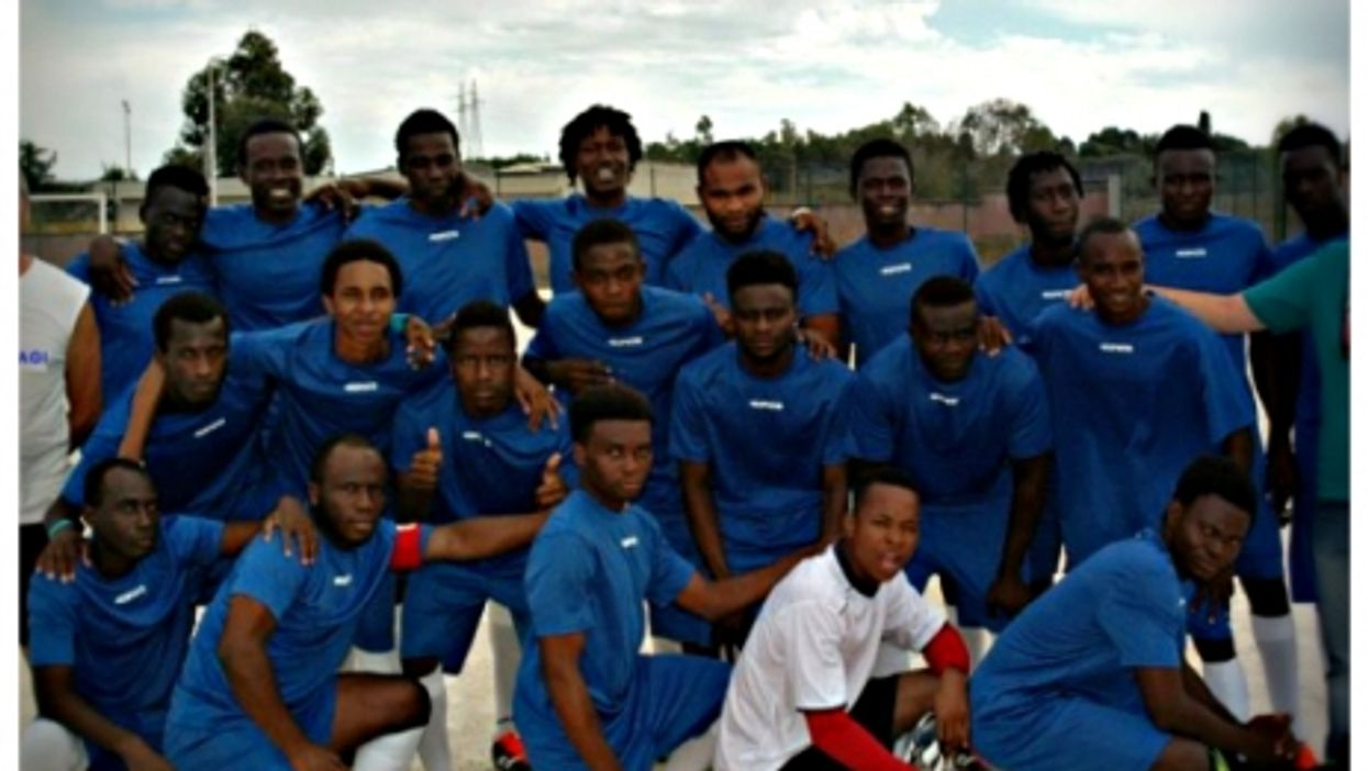 Sassari's Pagi soccer team