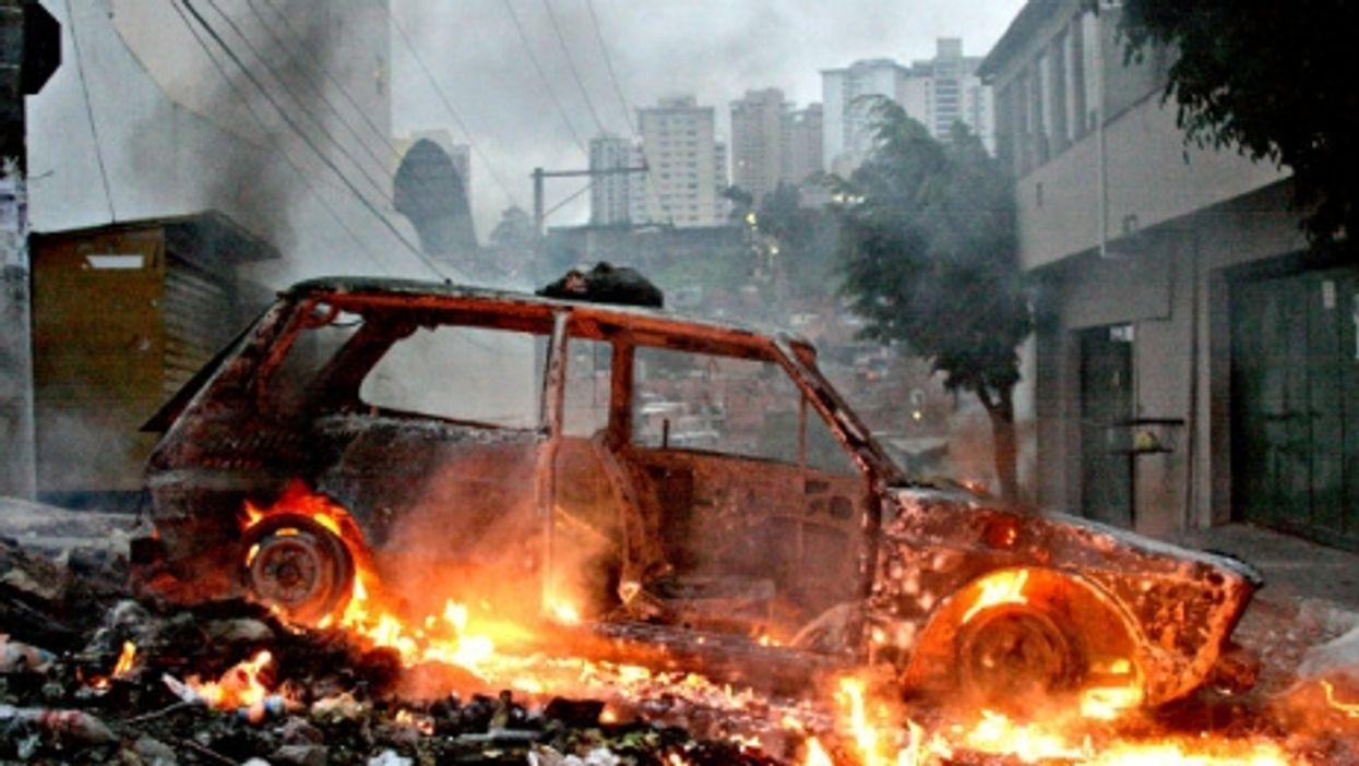 Scene from a Sao Paulo slum