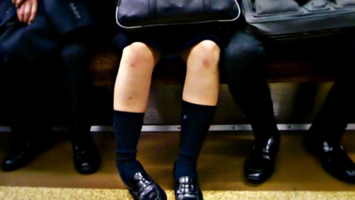 Schoolchildren in Tokyo