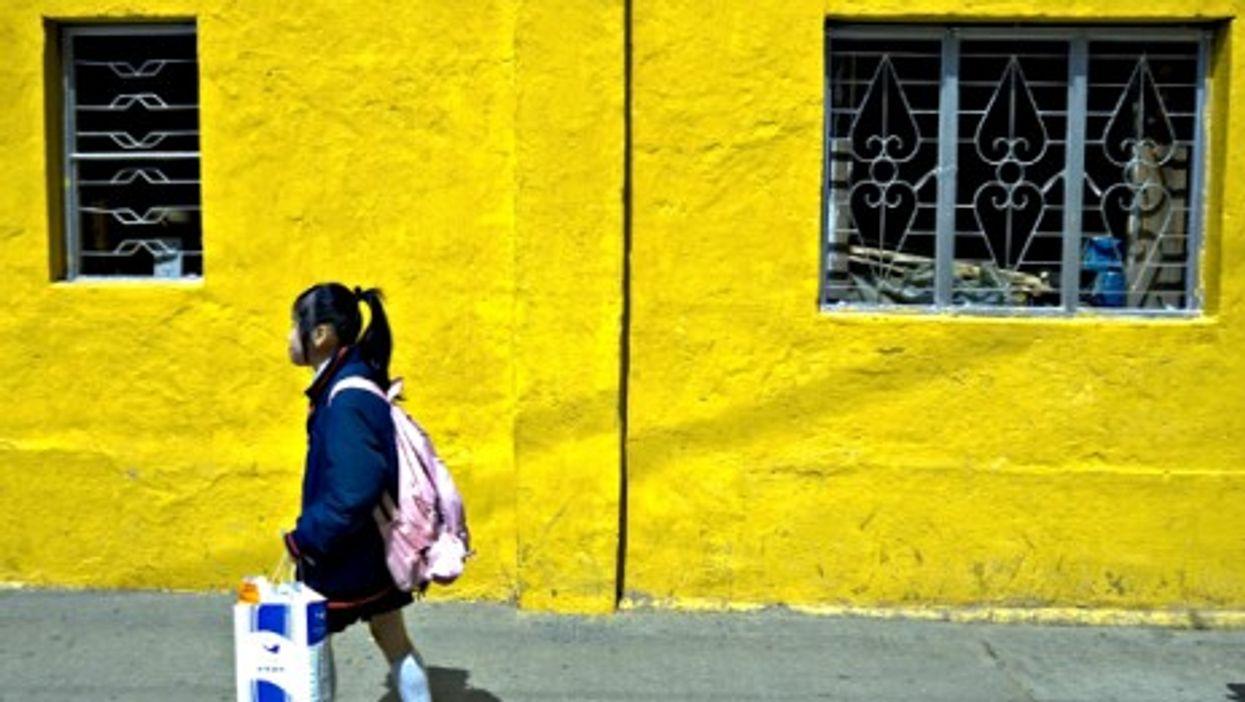 Schoolgirl in Macau
