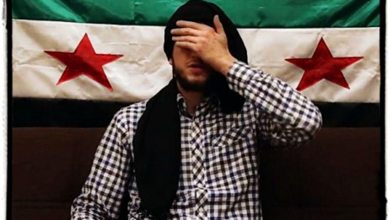 Screenshot of a Daya al-Taseh spoof video