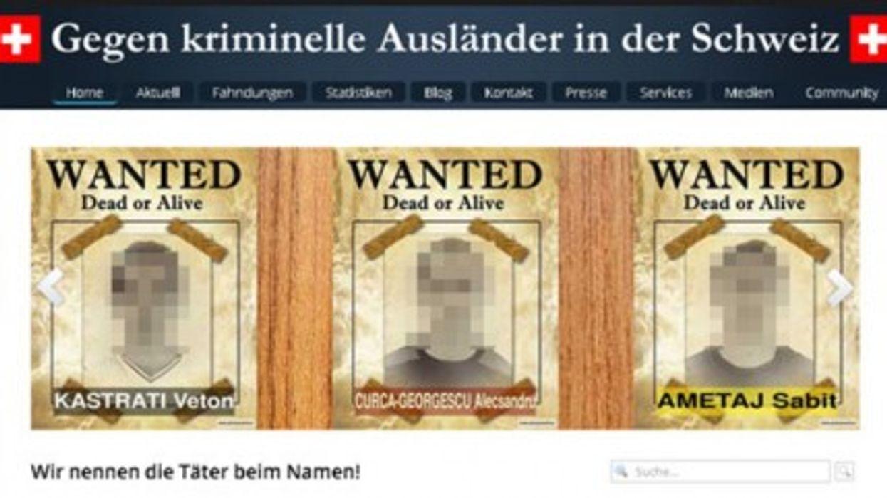Screenshot of Frommenwiler's website