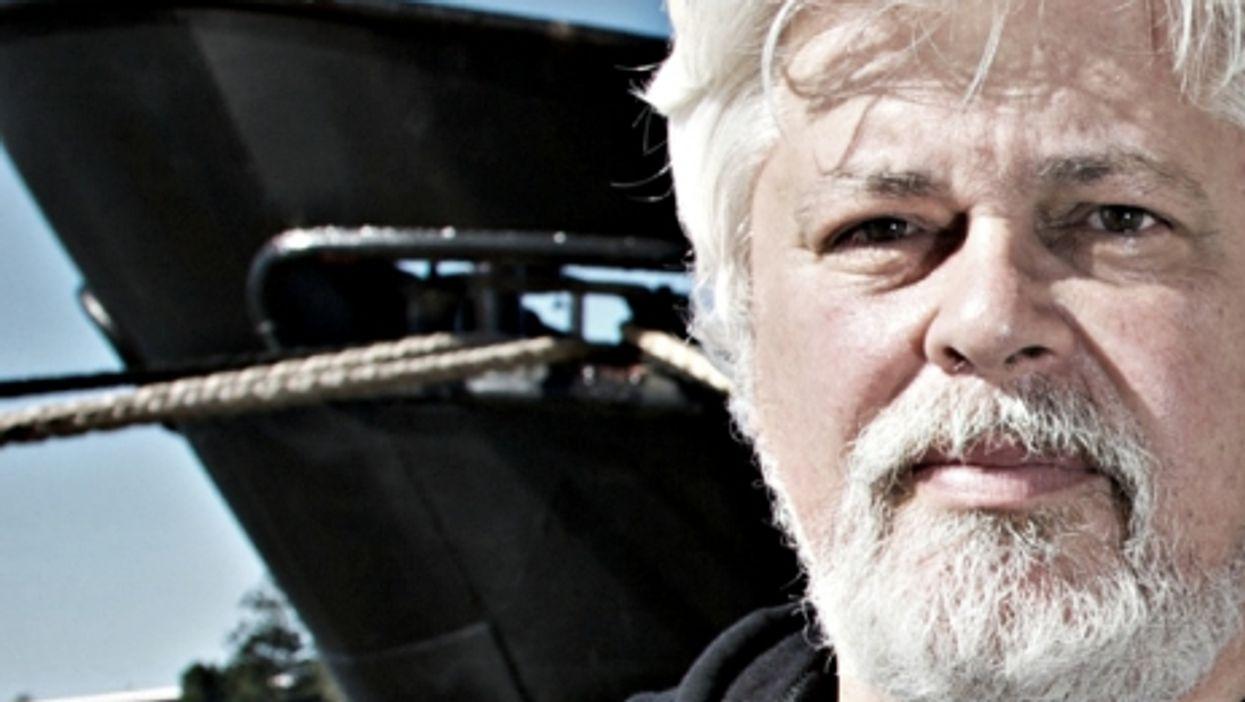 Sea Shepherd founder Paul Watson