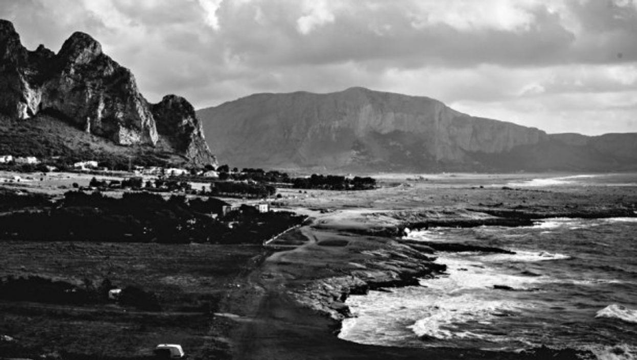 Seashore in Castelluzzo, Sicily